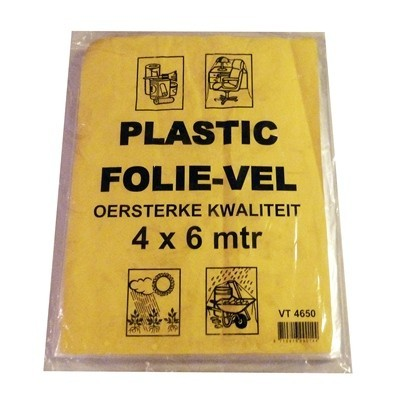 270105: Film de protection BDPE - 20 µm - feuille 4 x 6 m